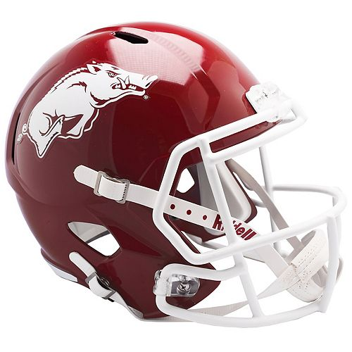 Riddell NCAA Arkansas Razorbacks Speed Replica Helmet