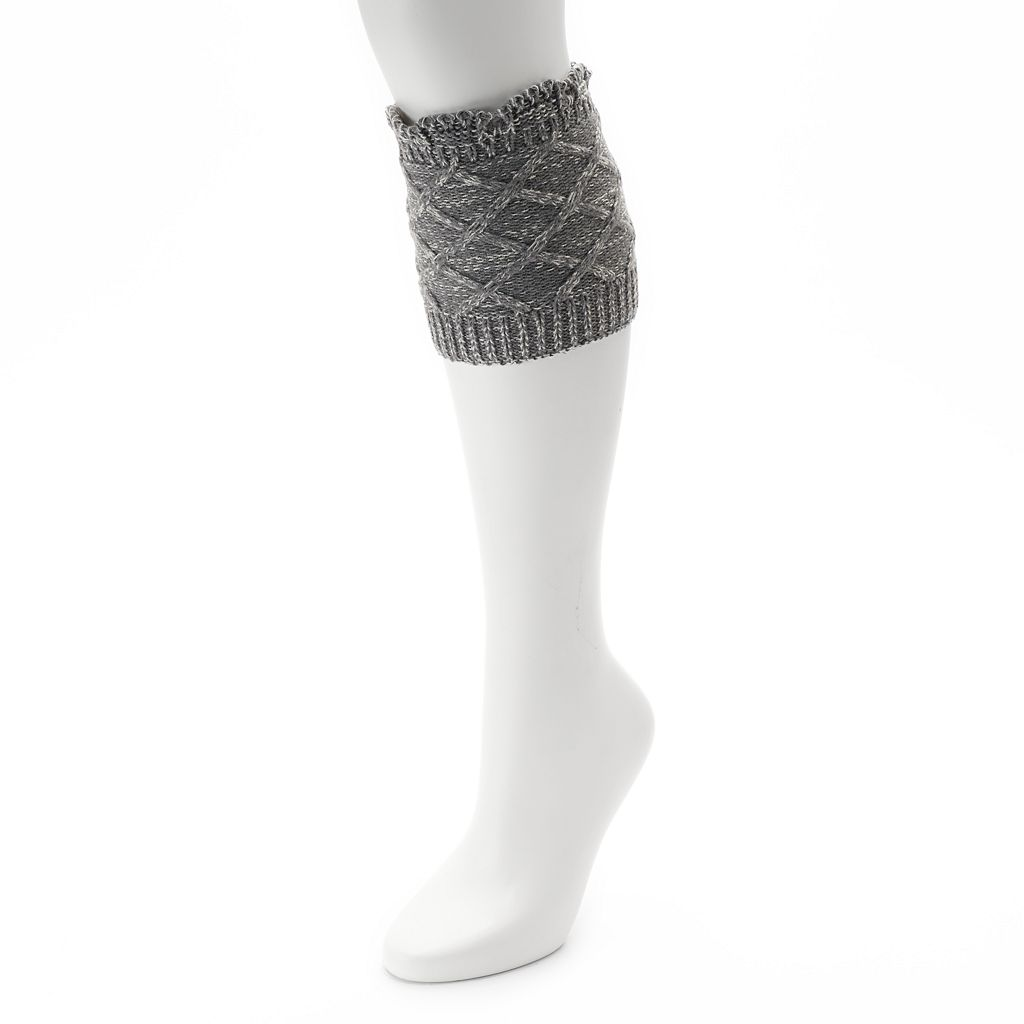 Women's SONOMA Goods for Life™ Marled Cable-Knit Boot Toppers