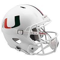 Riddell NCAA Miami Hurricanes Speed Replica Helmet