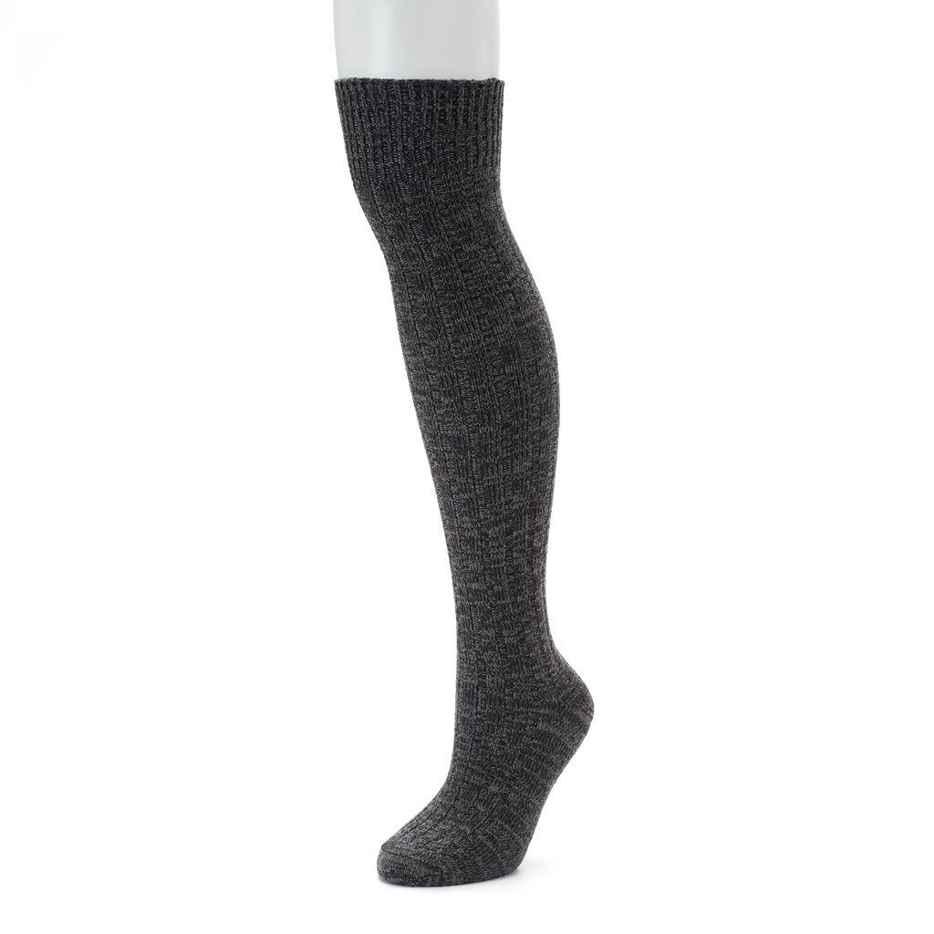 Women's SONOMA Goods for Life™ Ribbed Over-the-Knee Socks