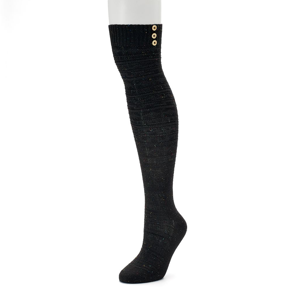 Women's SONOMA Goods for Life™ Fairisle Texture Over-the-Knee Socks