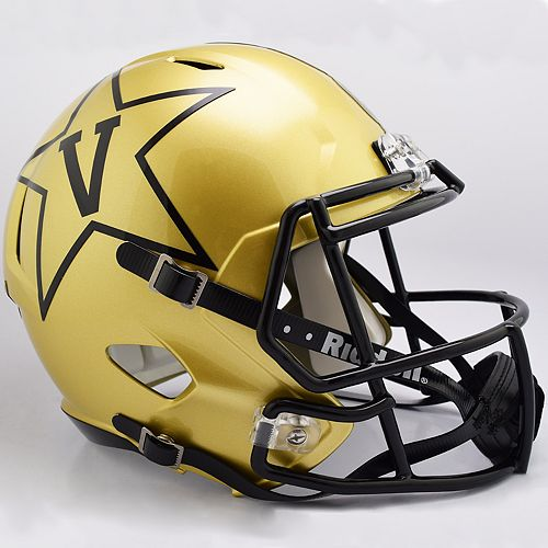 Riddell NCAA Vanderbilt Commodores Speed Replica Helmet