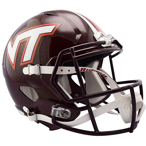 Riddell NCAA Virginia Tech Hokies Speed Replica Helmet