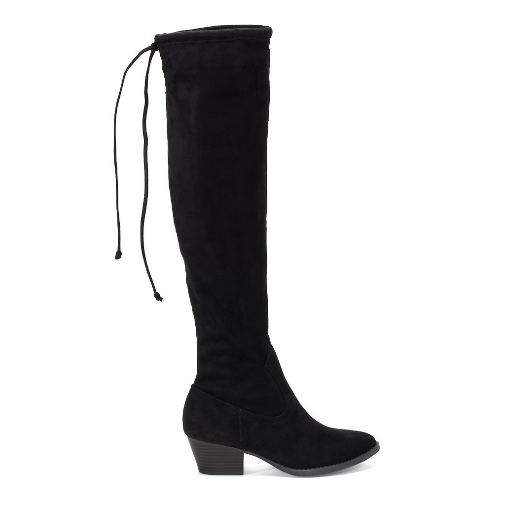 SO® Wardrobe Women's Over-The-Knee Boots