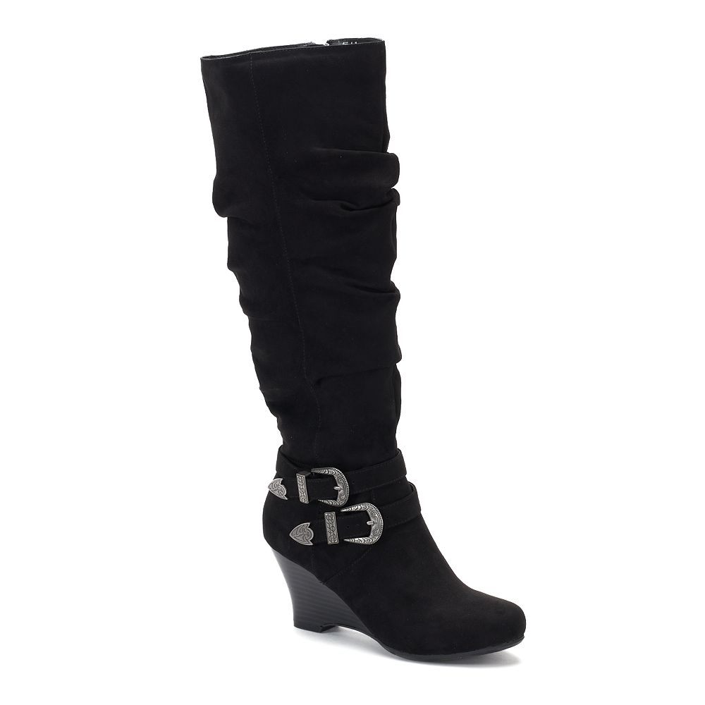 SO® Limousine Women's Tall ... Wedge Boots cheapest Y680OVamJO