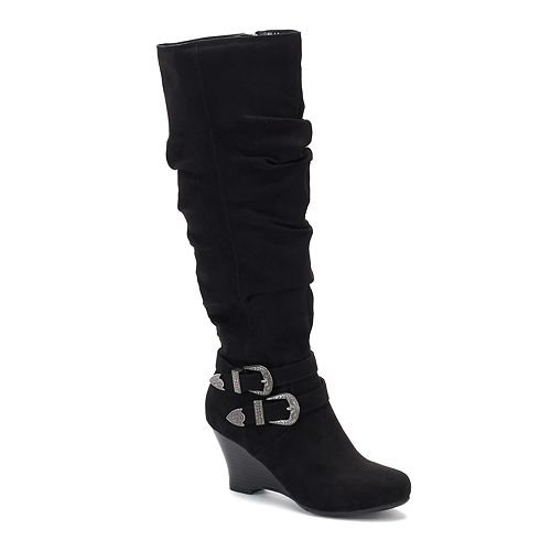 SO® Limousine Women's Tall Wedge Boots