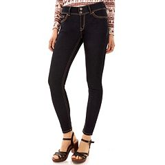 Juniors' Wallflower Luscious Curvy Skinny Jeans