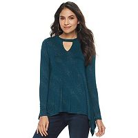 Women's Jennifer Lopez Cascade Cutout Top