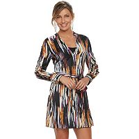 Women's Jennifer Lopez Lace-Up Shirtdress