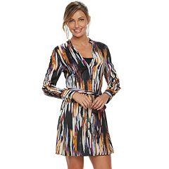 Women's Jennifer Lopez Lace-Up Shirtdress