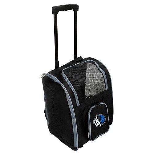 Mojo Dallas Mavericks Wheeled Pet Carrier