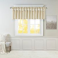 Madison Park Natalie Twisted Tab Valance