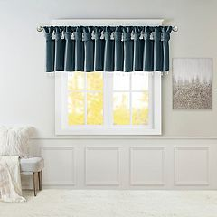 Madison Park Natalie Twisted Tab Window Valance