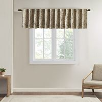 Madison Park Eliza Faux Silk Embroidered Valance