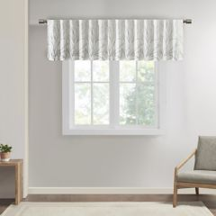 White Valances Window Treatments Home Decor Kohls
