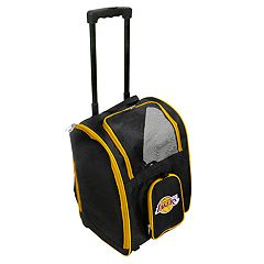 Mojo Los Angeles Lakers Wheeled Pet Carrier
