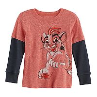 Disney's The Lion Guard Toddler Boy Kion Mock-Layer Tee by Jumping Beans®