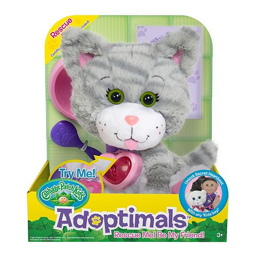 Cabbage Patch Kids Adoptimals Tabby Kitty