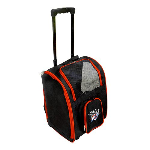 Mojo Oklahoma City Thunder Wheeled Pet Carrier