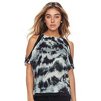 Women's Rock & Republic® Cold-Shoulder Top