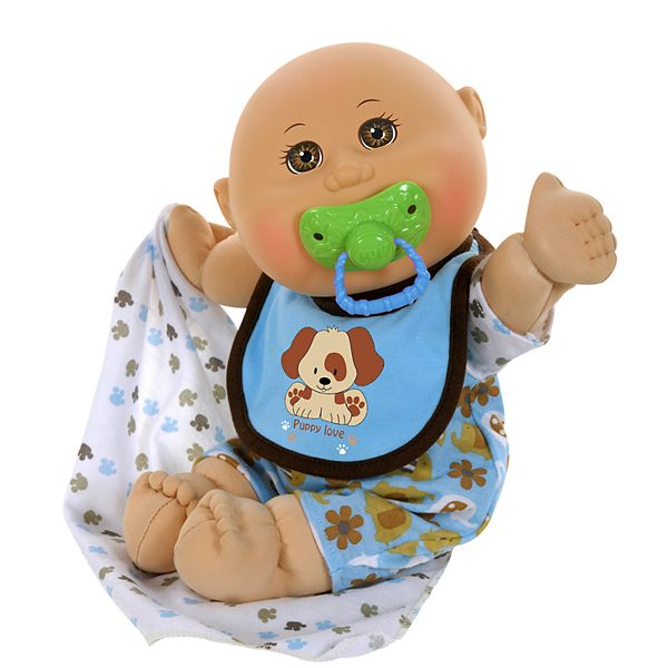 Cabbage Patch Kids 12 5 Inch Naptime Babies Boy With Dog Play Suit Doll