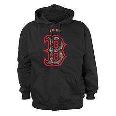 Men's Stitches Boston Red Sox Camo Logo Hoodie