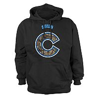 Men's Stitches Chicago Cubs Camo Logo Hoodie