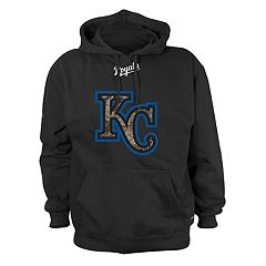 Men's Stitches Kansas City Royals Camo Logo Hoodie