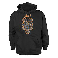 Men's Stitches New York Mets Camo Logo Hoodie