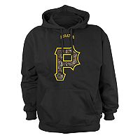 Men's Stitches Pittsburgh Pirates Camo Logo Hoodie