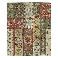 Kaleen Brooklyn Patchwork Wool Rug