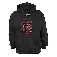Men's Stitches St. Louis Cardinals Camo Logo Hoodie