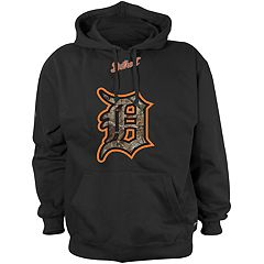 Men's Detroit Tigers Logo Pullover Fleece Hoodie