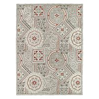 Kaleen Brooklyn Melia Scroll Medallion Wool Rug