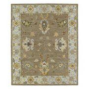 Kaleen Brooklyn Kashan Framed Floral Wool Rug