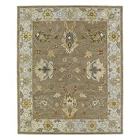 Kaleen Brooklyn Kashan Framed Floral Wool Rug