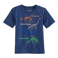 Toddler Boy Jumping Beans® Dinosaur Diagram Graphic Tee