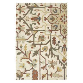 Kaleen Brooklyn Tabriz Floral Wool Rug