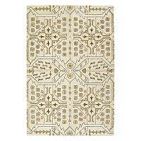 Kaleen Brooklyn Medlin Floral Wool Rug