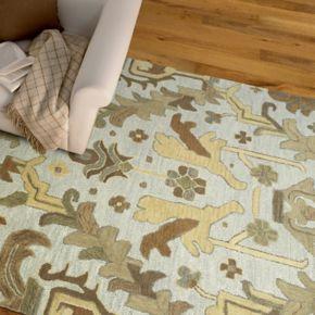 Kaleen Brooklyn Burlington Floral Wool Rug