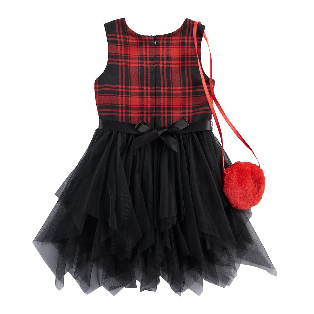 Girls 4-6x Knitworks Fairy Dress & Purse Set
