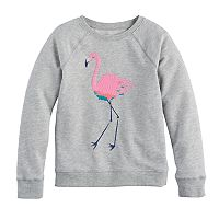 Girls 4-12 SONOMA Goods For Life™ Printed French Terry Crew