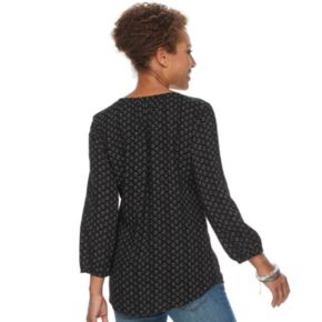 Women's SONOMA Goods for Life? Printed Peasant Top