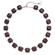 Simply Vera Vera Wang Red Square Stone Necklace
