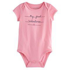 Jumping Beans® Baby Girl Valentine Bodysuit