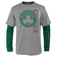 Boys 8-20 Boston Celtics Tee Combo Set