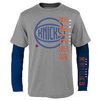 Boys 8-20 New York Knicks Tee Combo Set