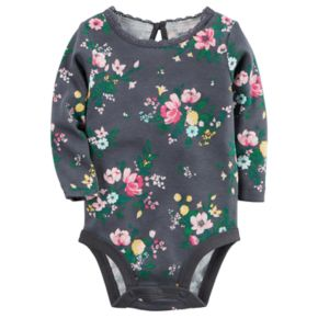 Baby Girl Carter's Floral Lace Bodysuit