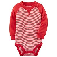Baby Boy Carter's Striped Raglan Bodysuit