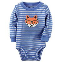 Baby Boy Carter's Striped Animal Bodysuit